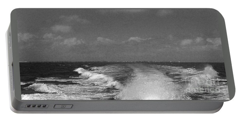 Boating 2 Portable Battery Charger featuring the photograph Boating 2 by Anita Lewis