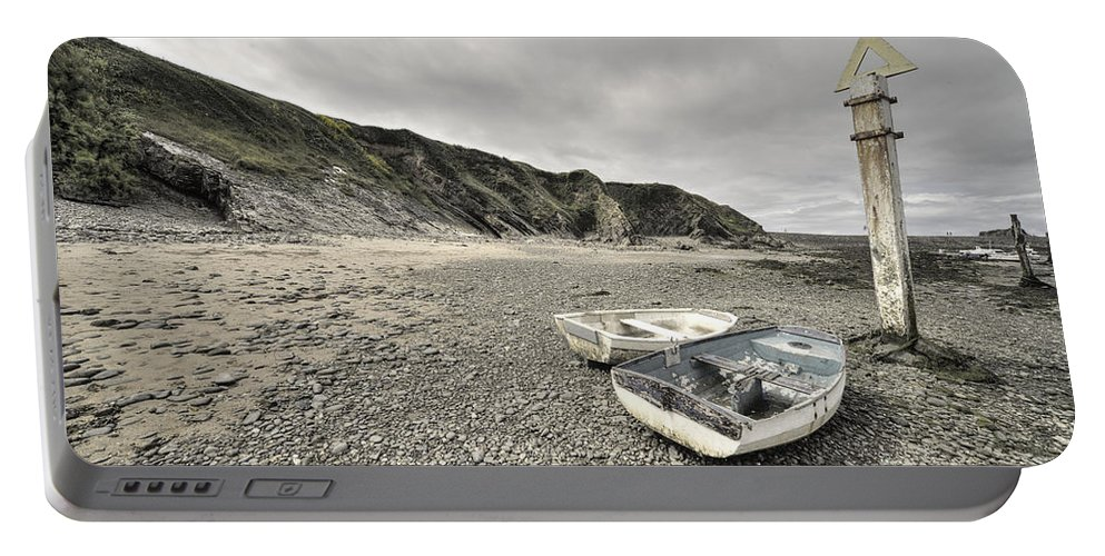 Bude Portable Battery Charger featuring the photograph Boats At Bude by Rob Hawkins