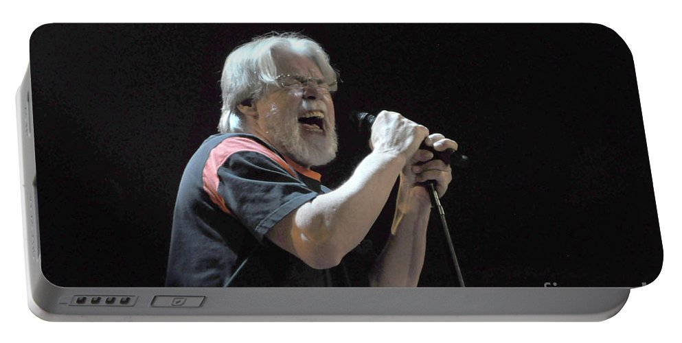 Bob Seger Portable Battery Charger featuring the photograph Bob Seger 6046-1 by Gary Gingrich Galleries