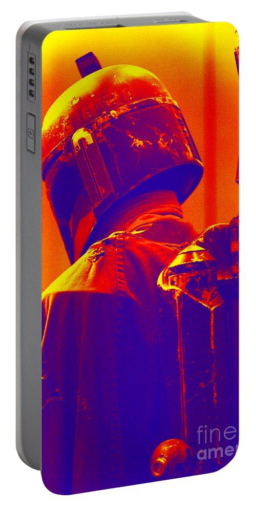 Boba Portable Battery Charger featuring the photograph Boba Fett Costume 2 by Micah May
