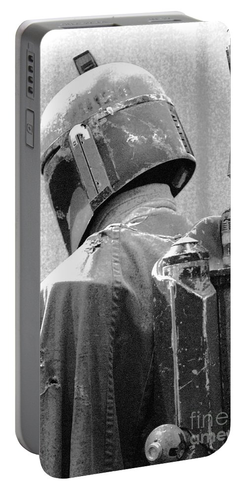 Boba Portable Battery Charger featuring the photograph Boba Fett Costume 3 by Micah May