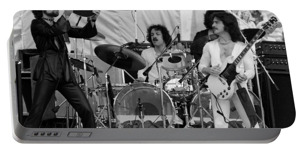 Blue Oyster Cult Portable Battery Charger featuring the photograph Boc #30 by Ben Upham