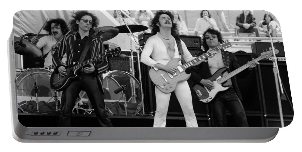 Blue Oyster Cult Portable Battery Charger featuring the photograph Boc #31 by Ben Upham