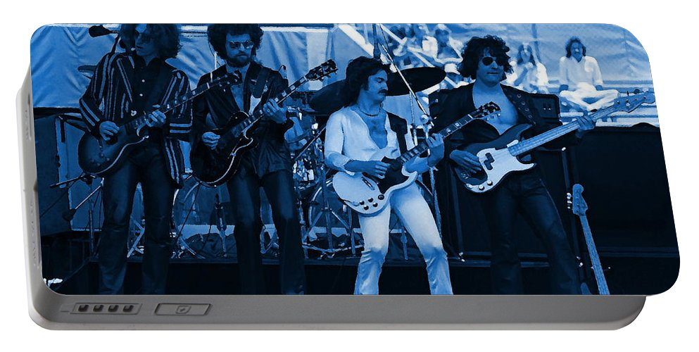 Blue Oyster Cult Portable Battery Charger featuring the photograph Boc #49 Enhanced In Blue by Ben Upham