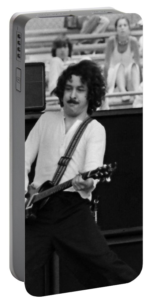Blue Oyster Cult Portable Battery Charger featuring the photograph Boc #53 Crop 3 by Ben Upham