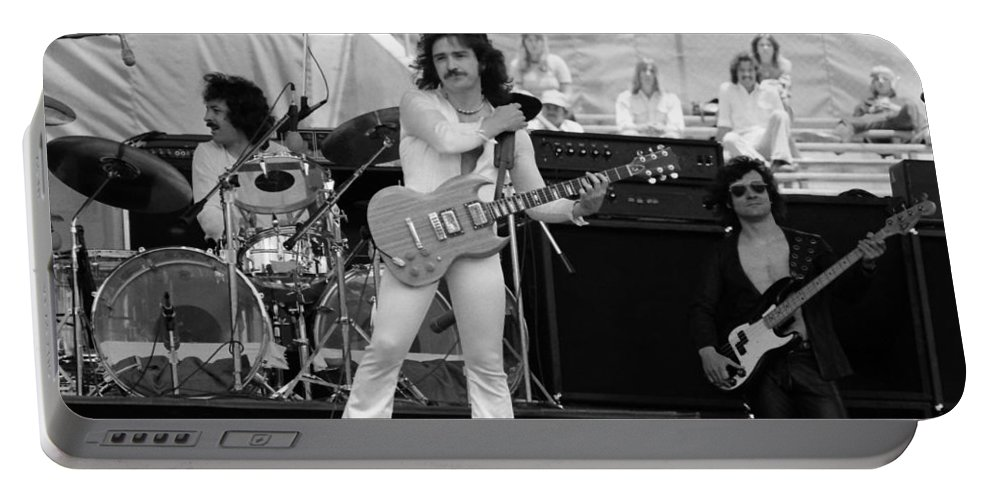 Blue Oyster Cult Portable Battery Charger featuring the photograph Boc #84 by Ben Upham