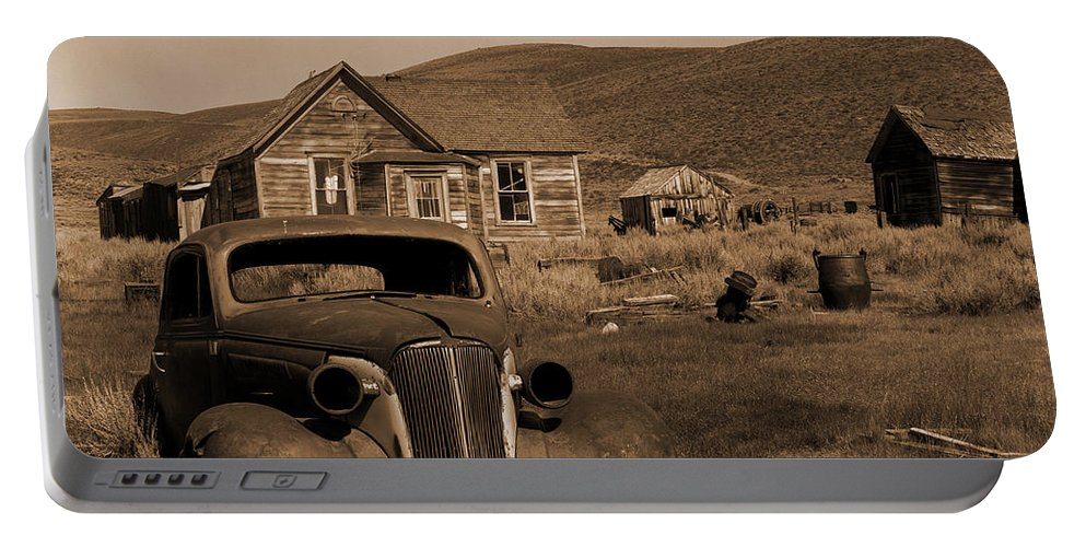 Car Portable Battery Charger featuring the photograph Bodie  #72986 by J L Woody Wooden