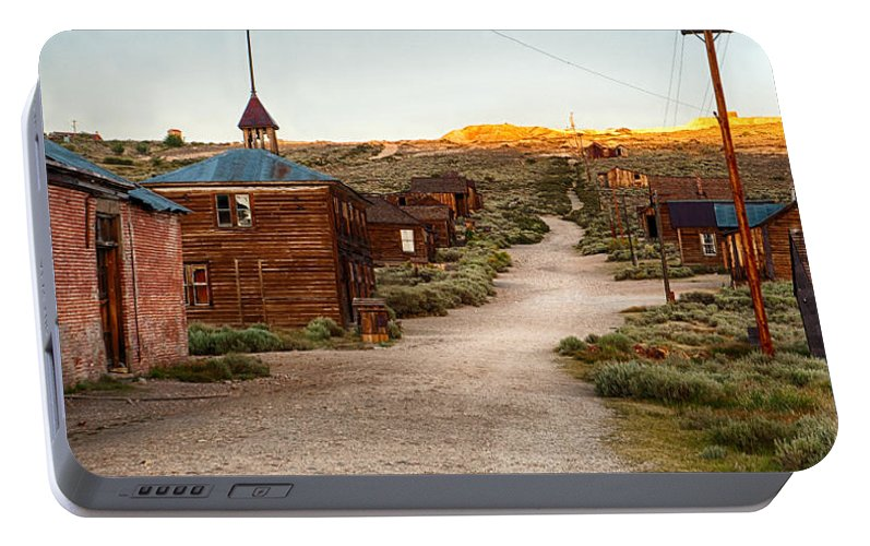 Bodie Portable Battery Charger featuring the photograph Bodie California by Cat Connor