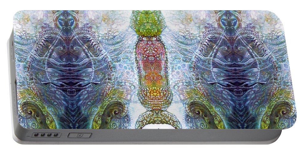 \bogomil Variations\ \otto Rapp\ \ Michael F Wolik\ Portable Battery Charger featuring the digital art Bogomil Variation 13 by Otto Rapp