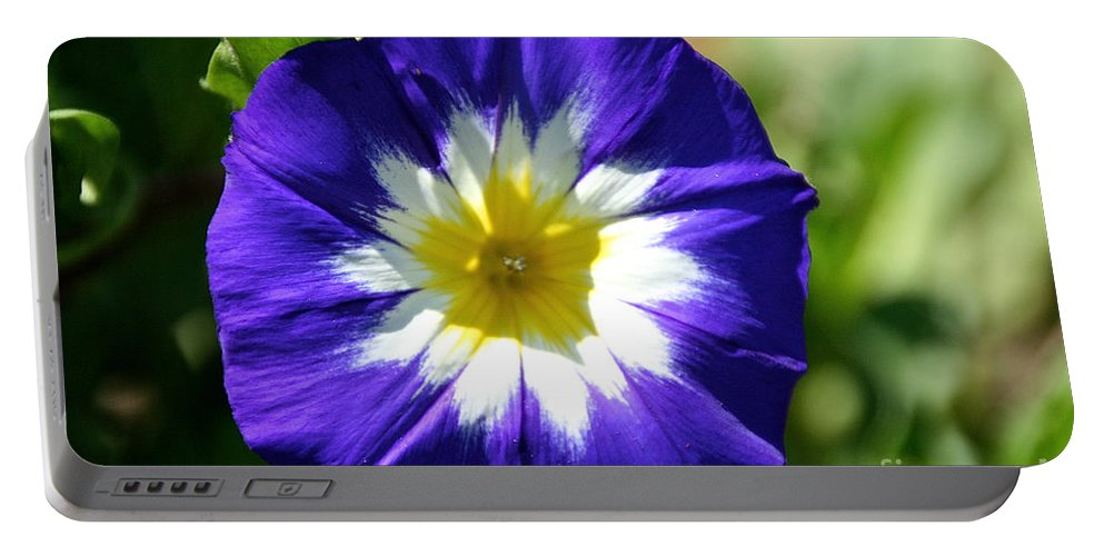 Flower Portable Battery Charger featuring the photograph Boldly Beautiful by Susan Herber