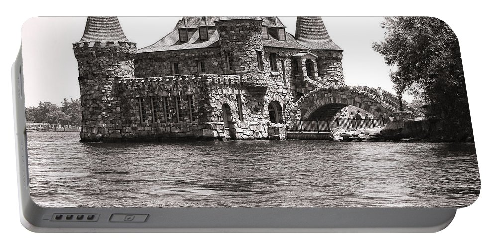 Boldt Portable Battery Charger featuring the photograph Boldt Castle Power House by Olivier Le Queinec