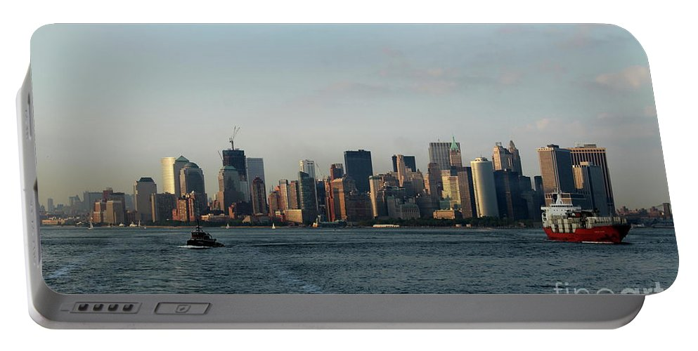 Tug Portable Battery Charger featuring the photograph Bon Voyage by Christiane Schulze Art And Photography