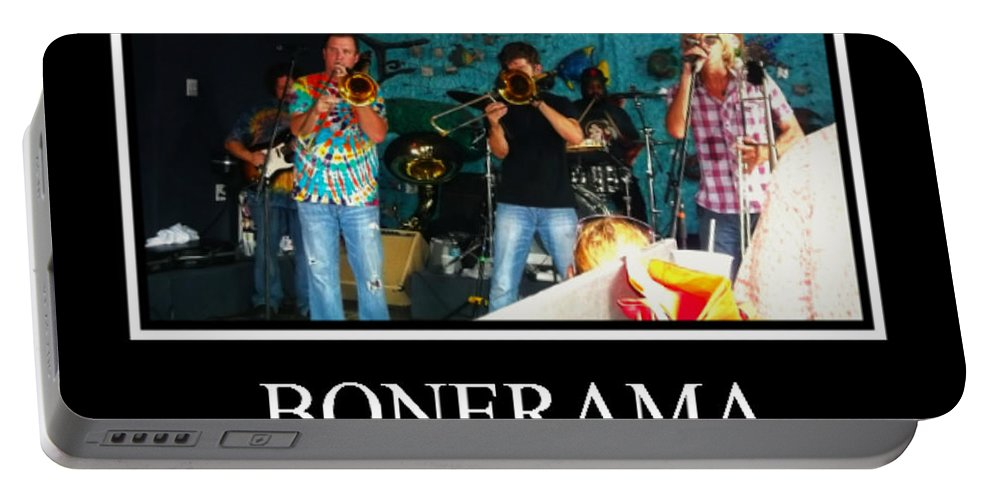 Portable Battery Charger featuring the photograph Bonerama by Kelly Awad