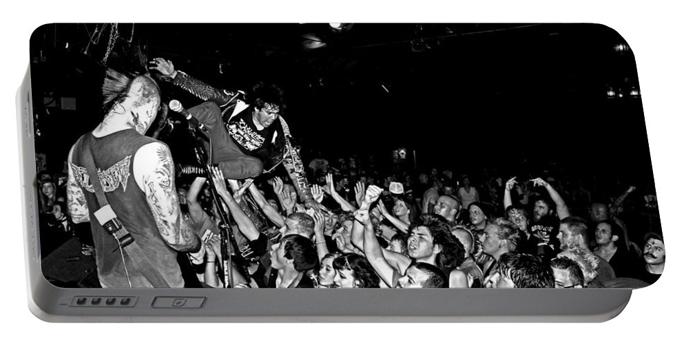 The Casualties Portable Battery Charger featuring the photograph Bonzai by Chiara Corsaro