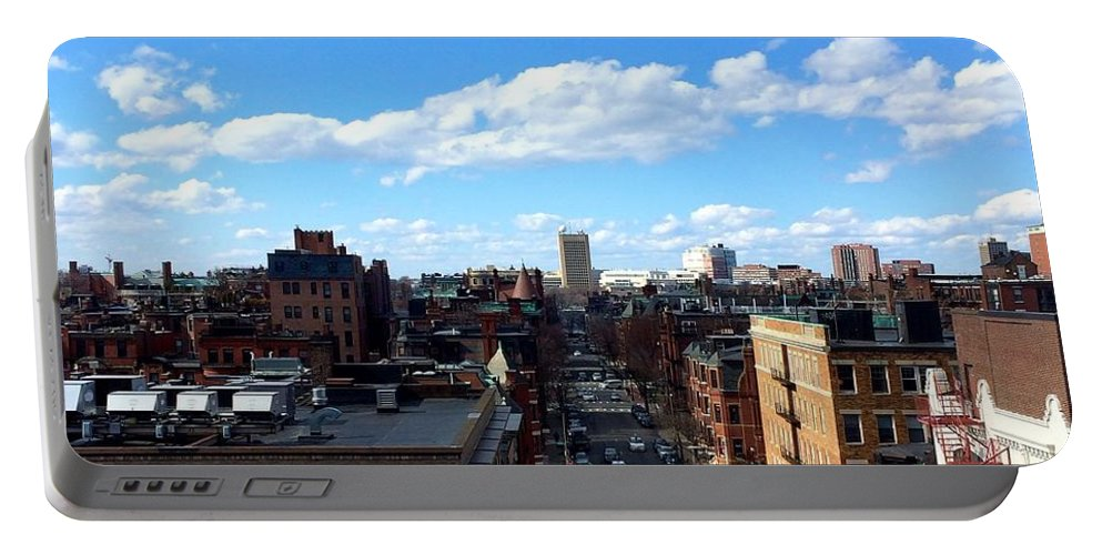 Boston Portable Battery Charger featuring the photograph Boston by Paul Wilford