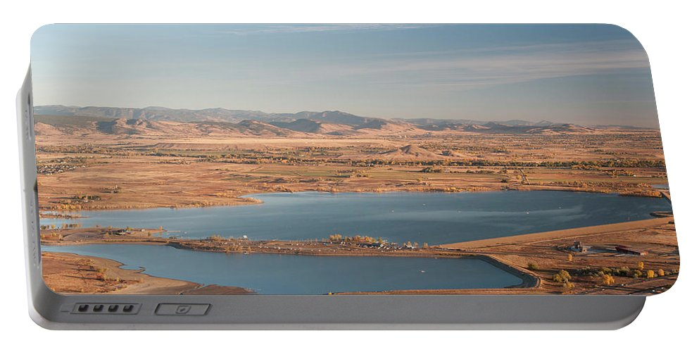 Boulder Portable Battery Charger featuring the photograph Boulder, Co, Boulder Reservoir by Ted Wood