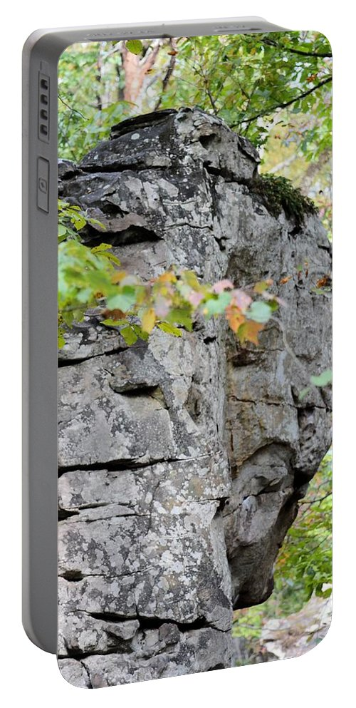 Boulder Field In October 2012 Portable Battery Charger featuring the photograph Boulder Field In October 2012 by Maria Urso