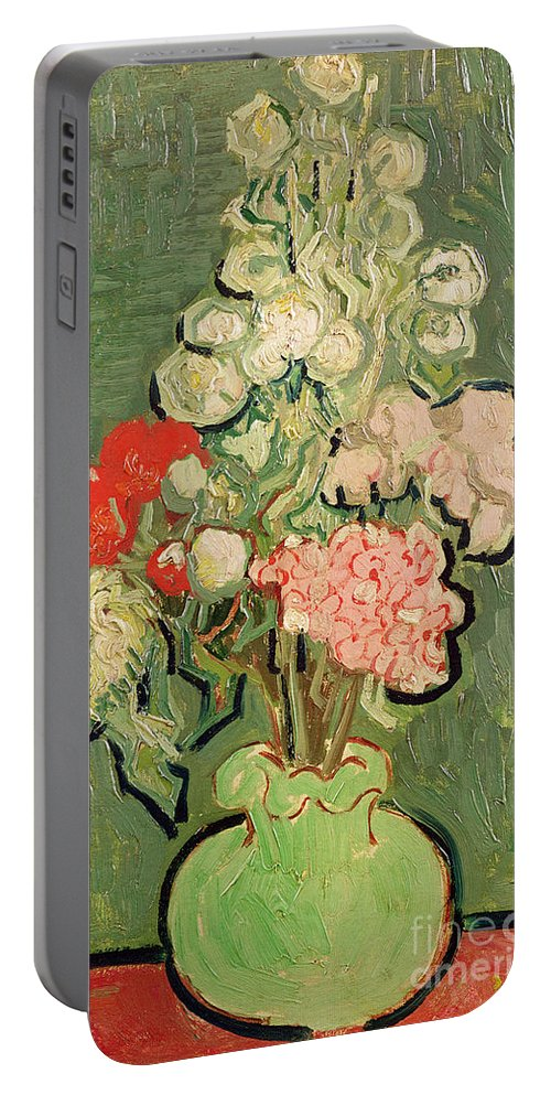 1890 Portable Battery Charger featuring the painting Bouquet Of Flowers by Vincent van Gogh