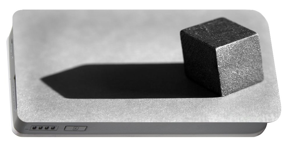 Pyramid Portable Battery Charger featuring the photograph Box by Kenny Glotfelty