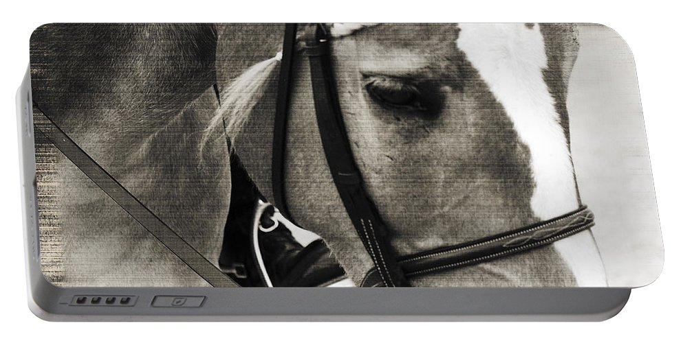 Horse Portable Battery Charger featuring the photograph Braided by Annette Persinger