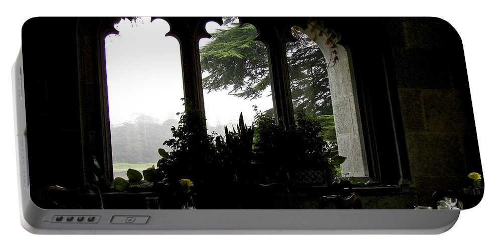 Adare Castle Portable Battery Charger featuring the photograph Breakfast At Daybreak by Charlie and Norma Brock