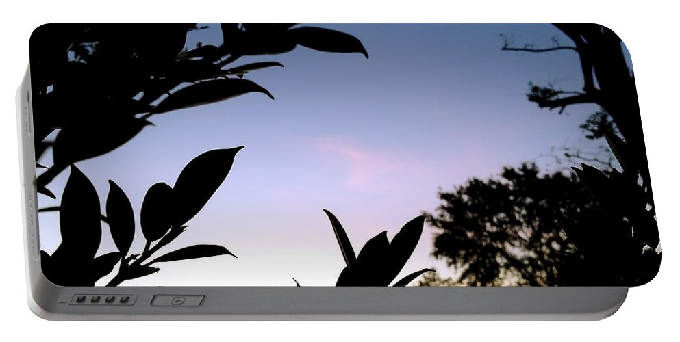 Photography Portable Battery Charger featuring the photograph Breaking Dawn by Ivy Ho