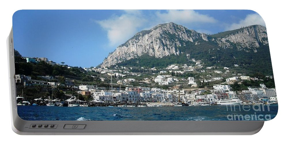 Isle Of Capri Portable Battery Charger featuring the photograph Breath Of Paradise by Lisa Kilby