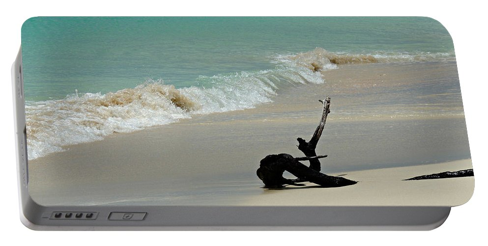 Barbuda Portable Battery Charger featuring the photograph Breathtaking Barbuda by Kimberly Perry