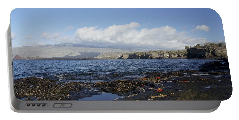 Galapagos Islands Portable Battery Charger featuring the photograph Breathtaking Egas Port by Brian Kamprath