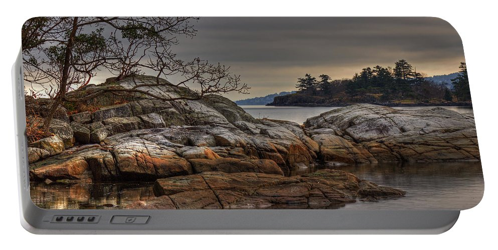 Landscape Portable Battery Charger featuring the photograph Tranquil Waters by Randy Hall
