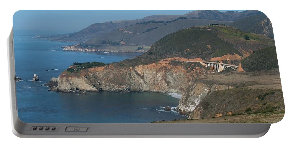 Landscape Portable Battery Charger featuring the photograph Bridge With A View by Jeffery L Bowers
