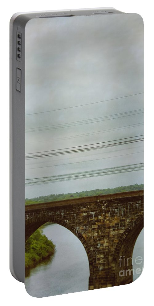 Architecture Portable Battery Charger featuring the photograph Bridges by Margie Hurwich