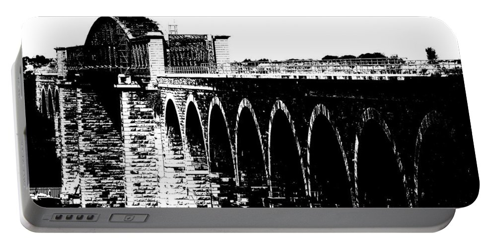 Bridge Portable Battery Charger featuring the photograph Bridging The Boyne by Charlie and Norma Brock