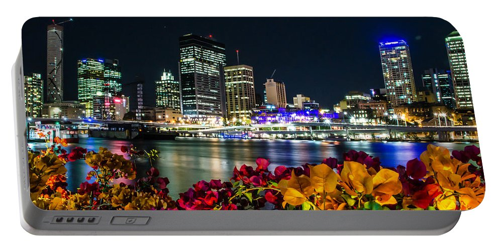 Australia Portable Battery Charger featuring the photograph Brisbane by D White