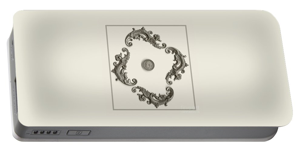 British Shilling Portable Battery Charger featuring the photograph British Shilling Wall Art by Joseph Baril