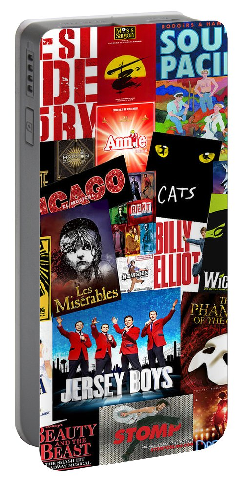 Broadway Portable Battery Charger featuring the photograph Broadway 1 by Andrew Fare