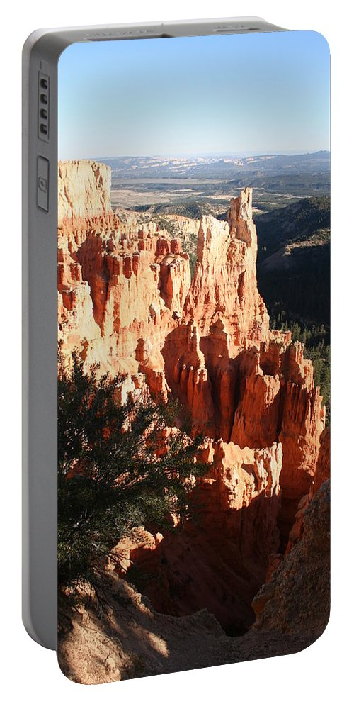 Canyon Portable Battery Charger featuring the photograph Bryce Canyon Landscape by Christiane Schulze Art And Photography