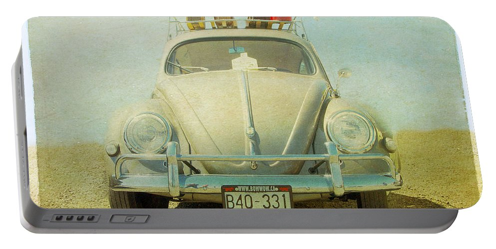 Bug Portable Battery Charger featuring the photograph Bug On A Trip by Michele Wright
