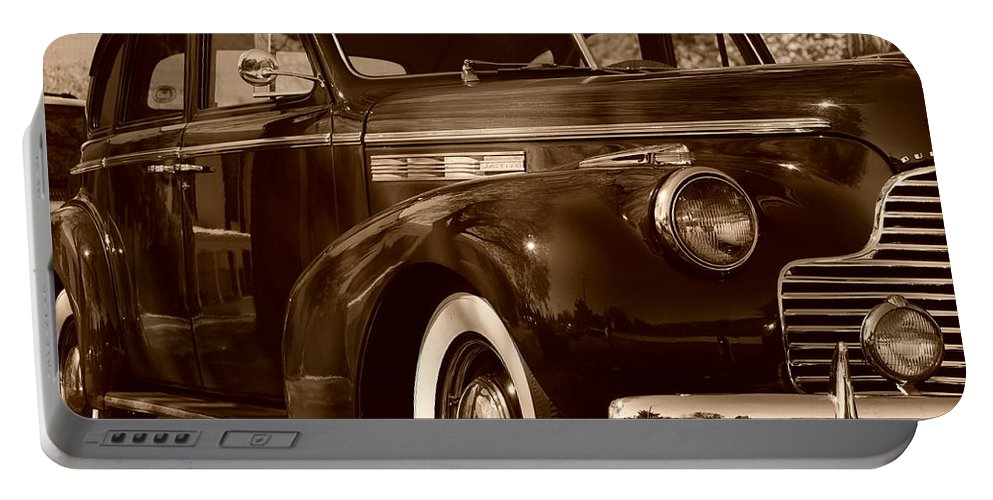Buick Portable Battery Charger featuring the photograph Buick Beauty by Thomas Shockey