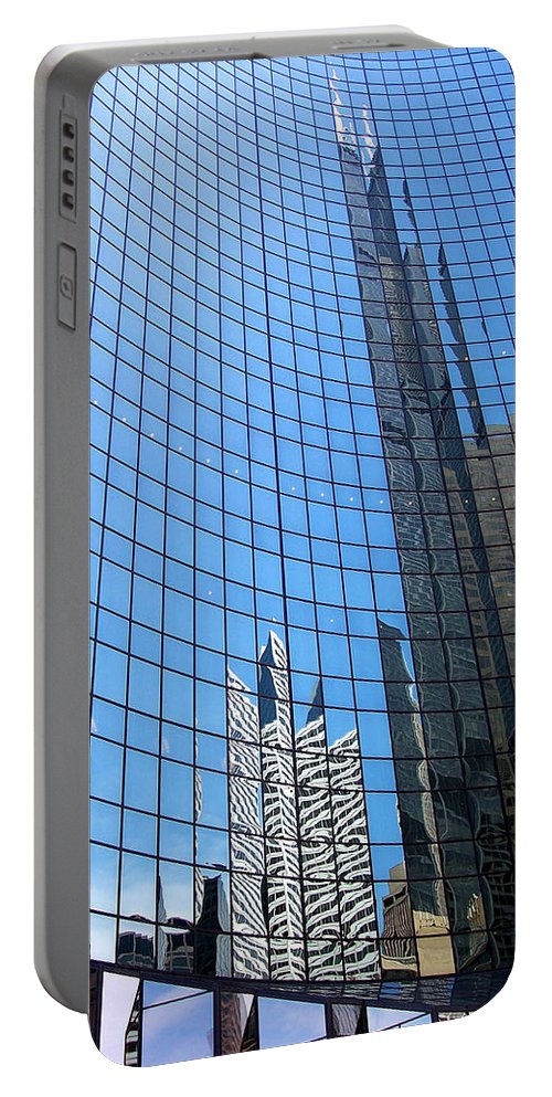 Buildings Portable Battery Charger featuring the photograph Building Mosaic by Donna Blackhall