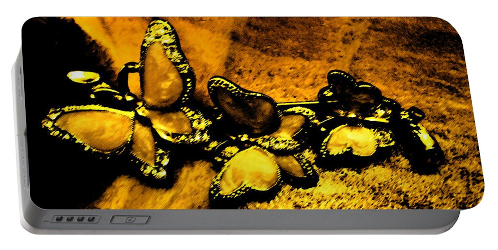 Butterfly Portable Battery Charger featuring the digital art Butterflies 2 by Lovina Wright