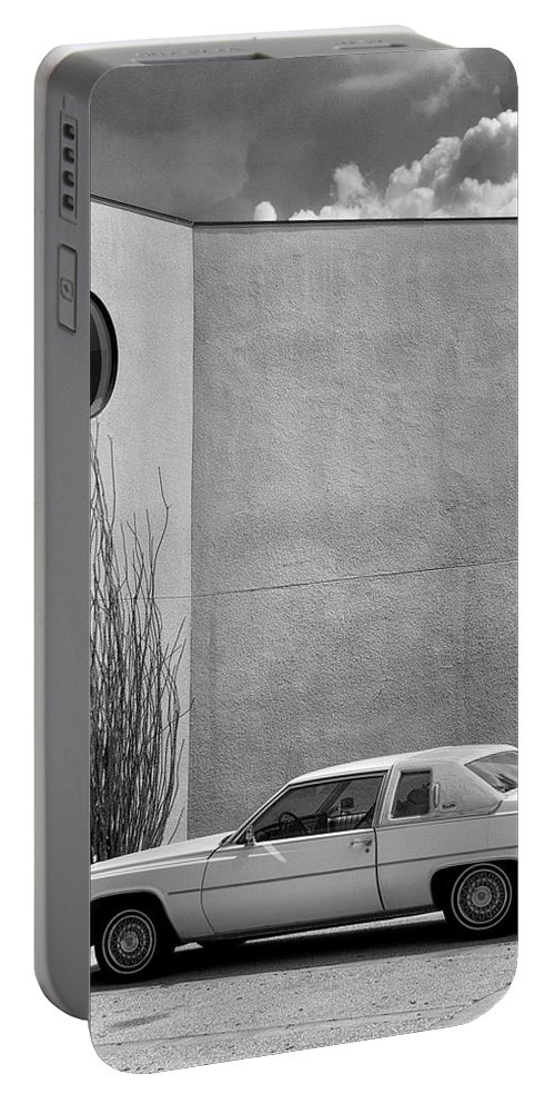 Cadillac Portable Battery Charger featuring the photograph Cadillac Drive Palm Springs by William Dey