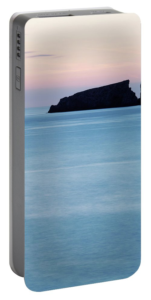 Water Portable Battery Charger featuring the photograph Cala Mesquida On The Island by David Santiago Garcia