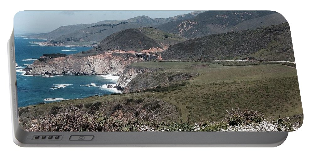 California Portable Battery Charger featuring the photograph California Coastline by Christy Gendalia