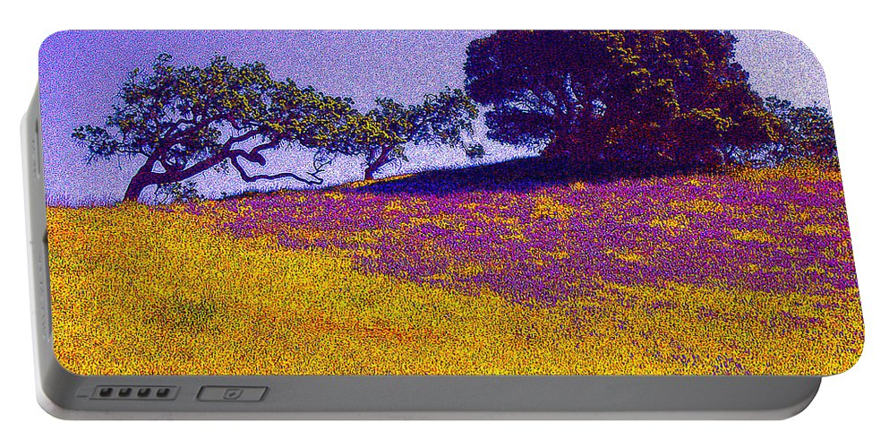 California Portable Battery Charger featuring the photograph California Hills by Jerome Stumphauzer
