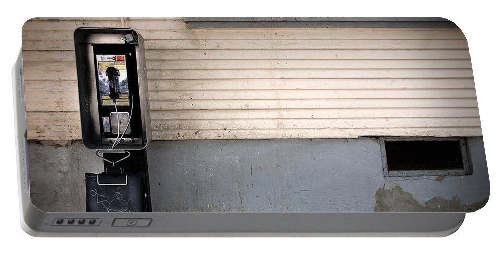 California Portable Battery Charger featuring the photograph Call Me by Peter Tellone