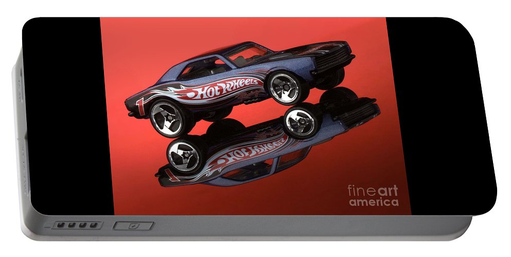 Car Portable Battery Charger featuring the photograph Camaro4-2 by Gary Gingrich Galleries