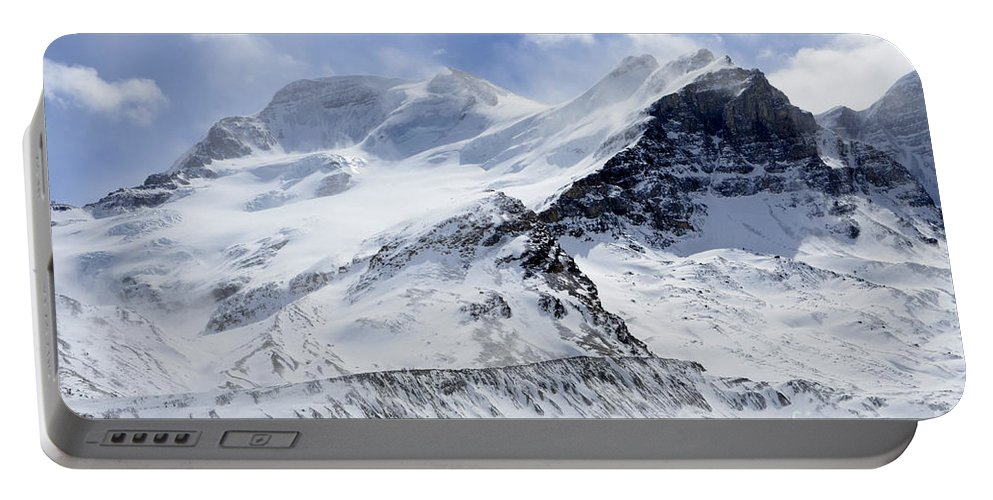 Mountain Portable Battery Charger featuring the photograph Canadian Rockies 2 by Bob Christopher