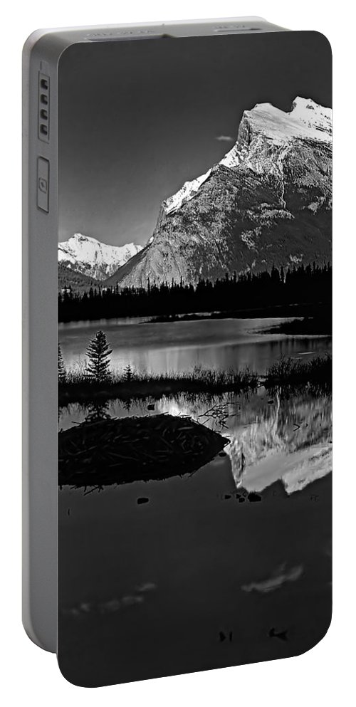 Mountains Portable Battery Charger featuring the photograph Canadian Rockies by Steve Harrington