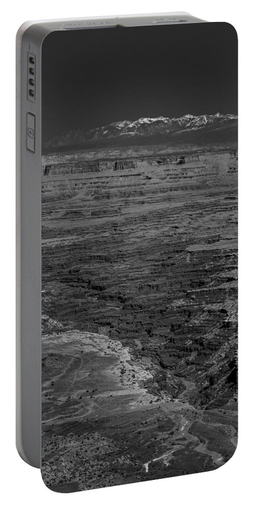 Moab Portable Battery Charger featuring the photograph Canyon by Angus Hooper Iii